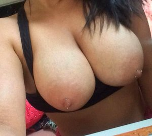 Girlfriends like showing off their huge round breasts on cam