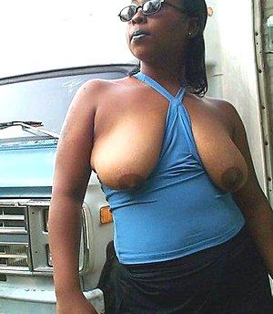 Amateur black woman Sasha