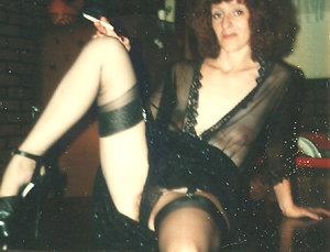 Skinny ladies retro pictures